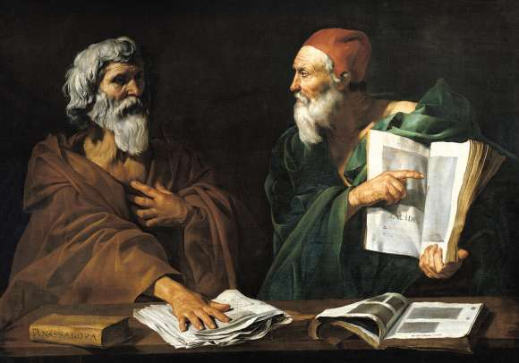 The Philosophers painting
